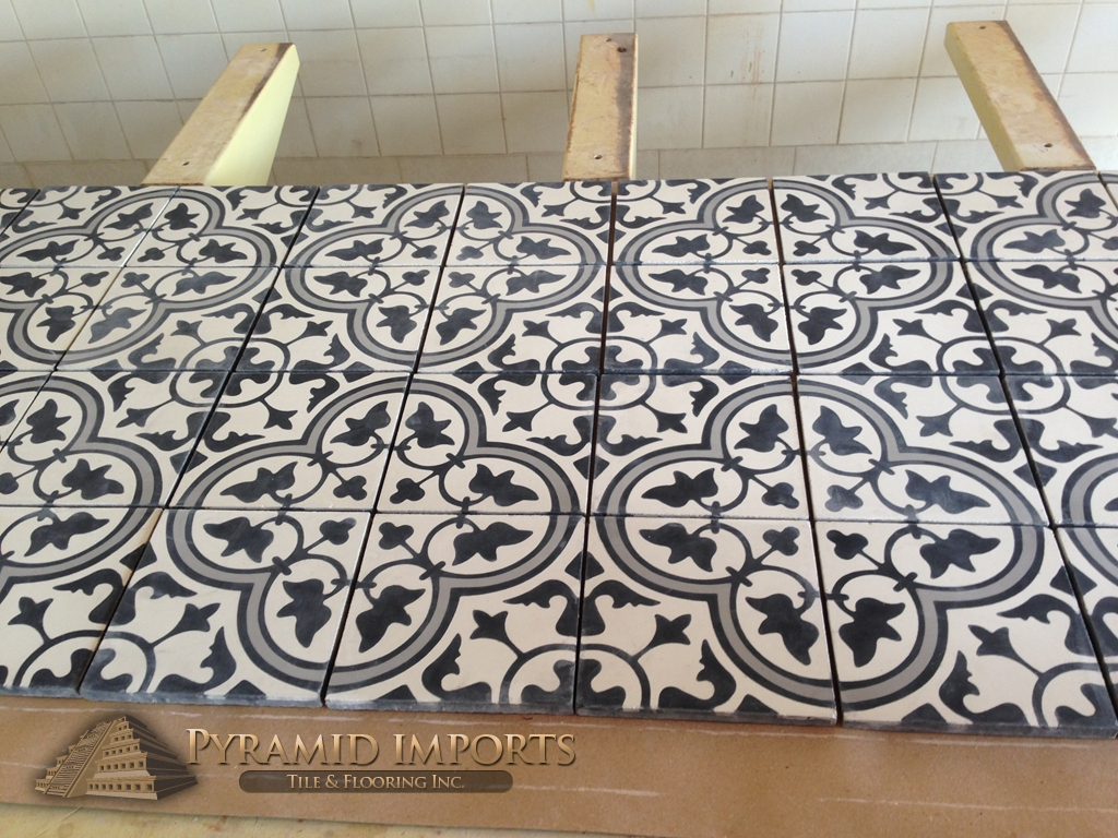 Encaustic Tile Houston Cement Tiles